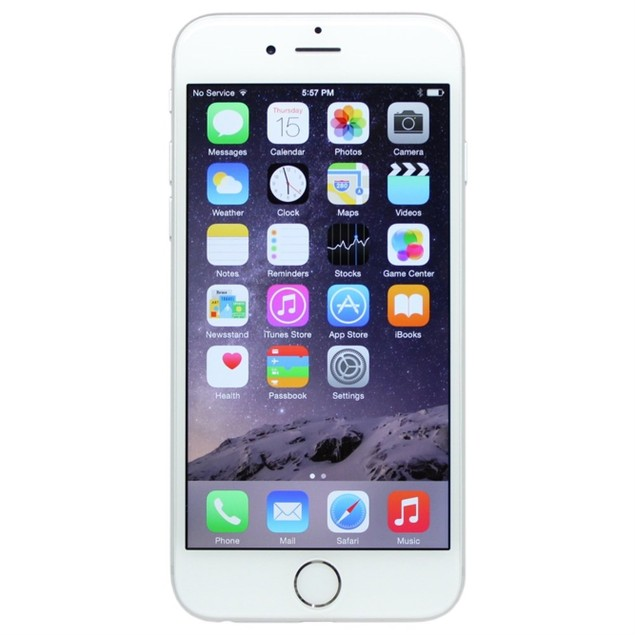"""Apple iPhone 6 16GB 4.7"""" FullyUnlocked,Silver(Scratch and Dent)"""