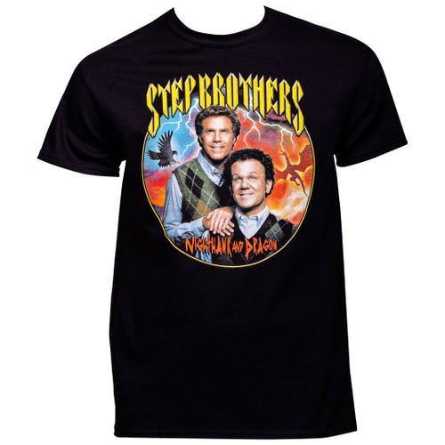 Step Brothers Nighthawk and Dragon T-Shirt