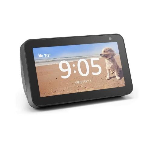 Amazon Echo Show 5 Compact smart display with Alexa - Charcoal