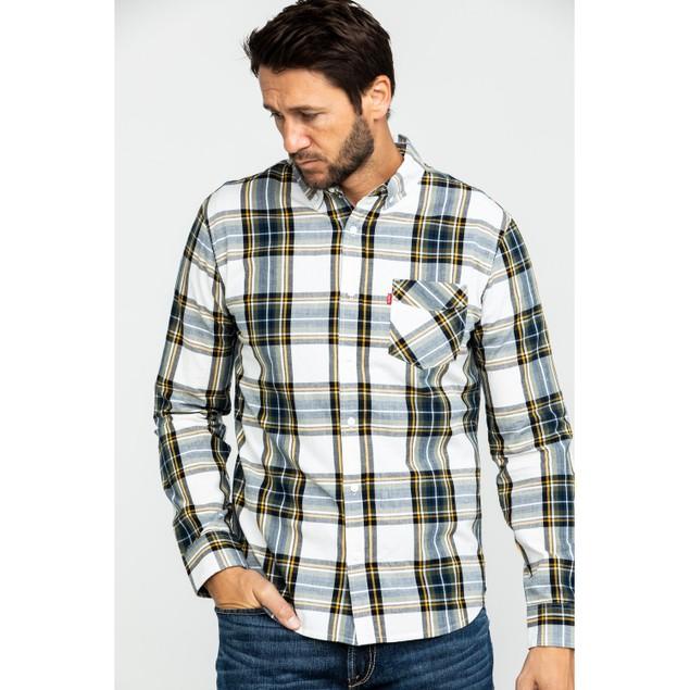 Levi's Men's Holtby Plaid Shirt Multi Size Small