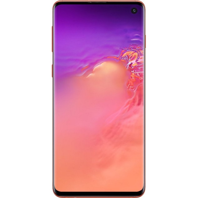 Samsung Galaxy S10+, AT&T, Pink, 128 GB, 6.1 in Screen
