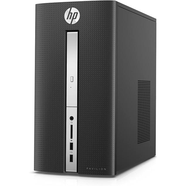 HP Pavilion 570-P020 Intel Core i5-7400 8GB 1TB, Black (Refurbished)