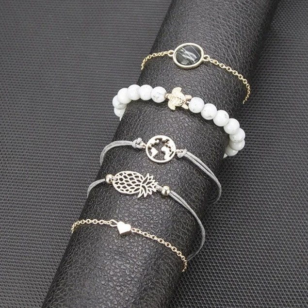 Stylish Around The World Bracelets