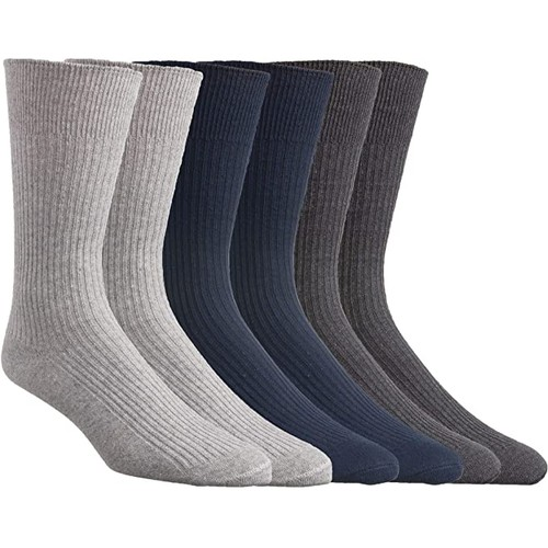 15-Pair: All Season Heavyweight Working Men's Socks