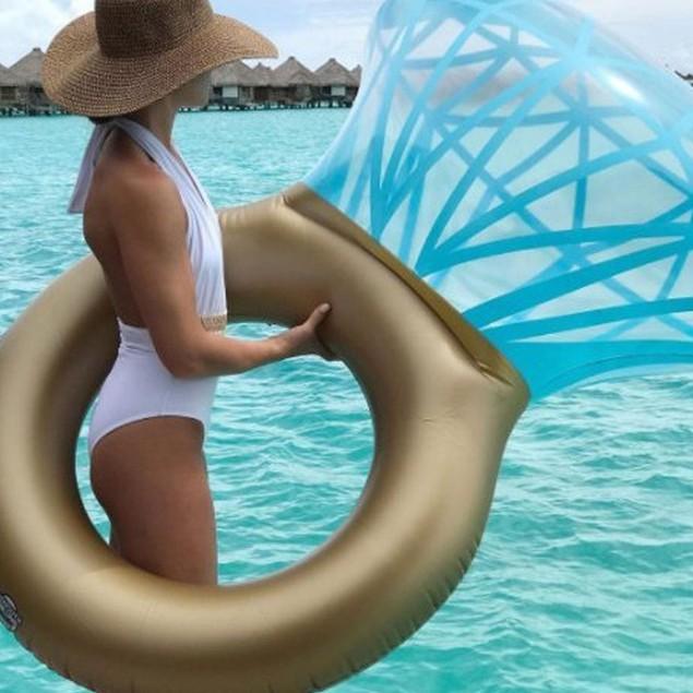 Giant Diamond Ring Inflatable Mattress - Summer 2018