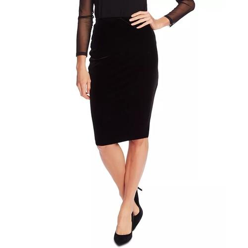 Vince Camuto Women's Velvet Tube Skirt Black Size XX Small