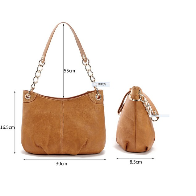 Ladies Simple Chain Shoulder Handbag