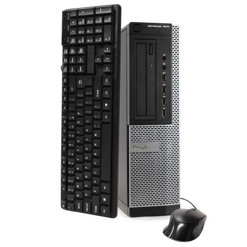Dell 7010 Desktop Intel i5 8GB 240GB SSD Windows 10 Professional
