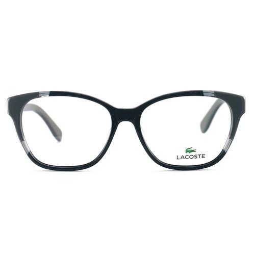 Lacoste Unisex Eyeglasses L2737 001 Black 53 15 135 Full Rim