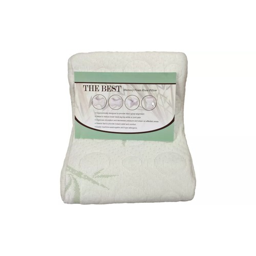 Bamboo Memory Foam Knee Pillow