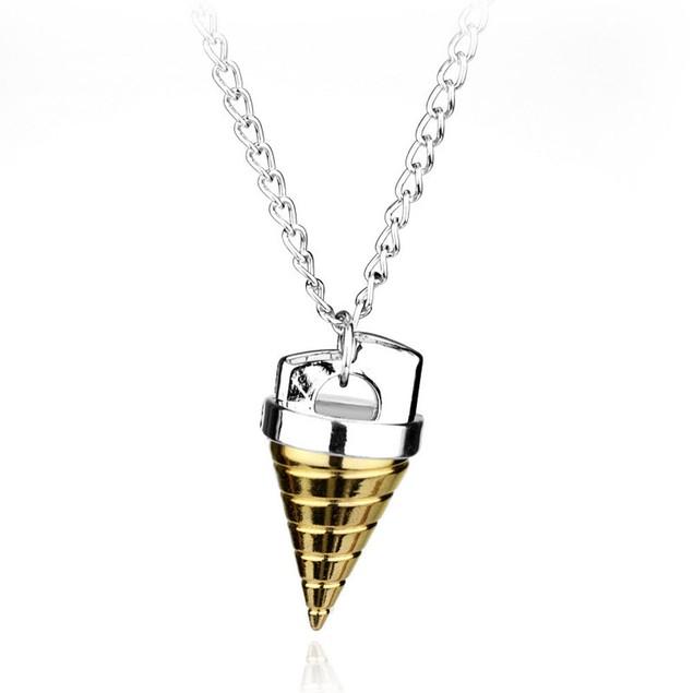 Tengentoba Gulenlagan KINON Gold Drill Necklace Tengen Toppa Gurren Simon