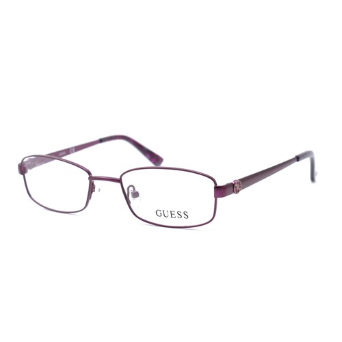 Guess Women  GU2524 082 Metallic Purple 49 18 135 Full Rim Oval