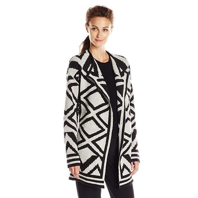 NIC+ZOE Women's Mirrored Angles Jacket, Black Mix, Small