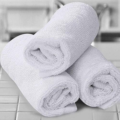 12-Pack: 100% Cotton Absorbent 12x12  Kitchen Dish/Wash Cloths