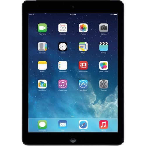 "Apple iPad Air MD785LL/A 9.7"" 16GB WiFi,Space Gray (Refurbished)"