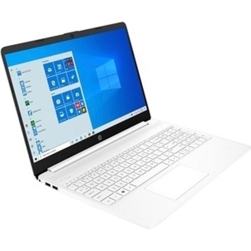"""HP 15-DY1039 15.6"""" 256GB Intel Core i3-1005G1 Win10,Snow White"""
