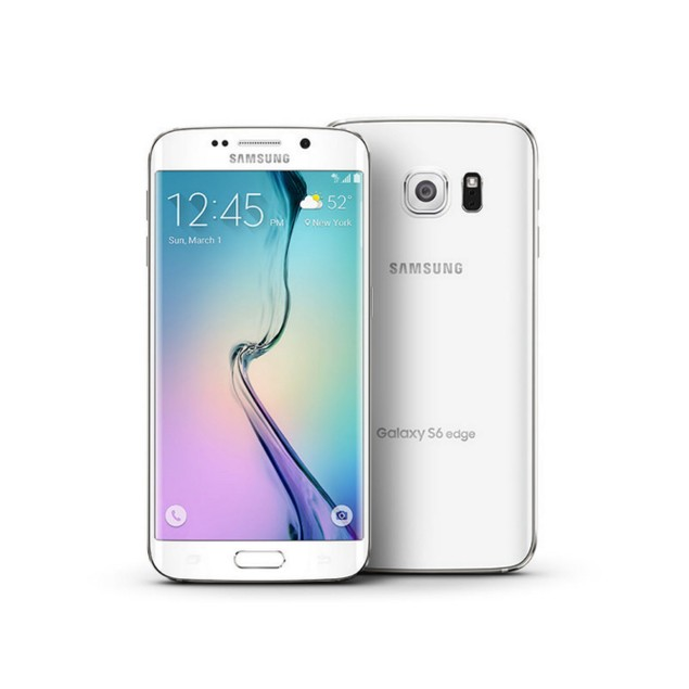 Samsung Galaxy S6 Edge, AT&T, White, 32 GB, 5.1 in Screen