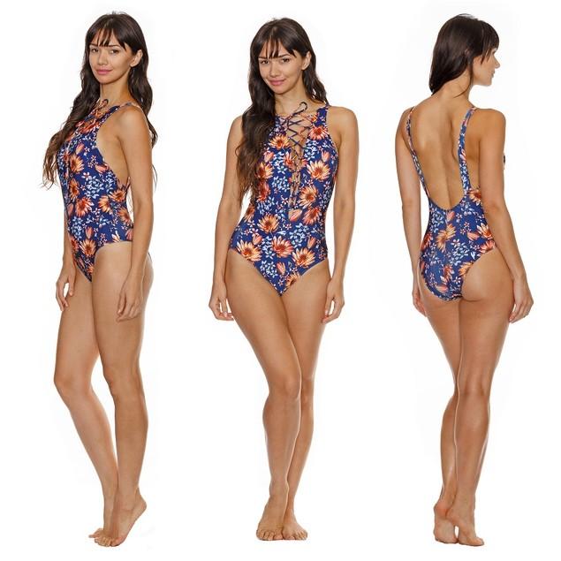 Flower Lace Swimsuit