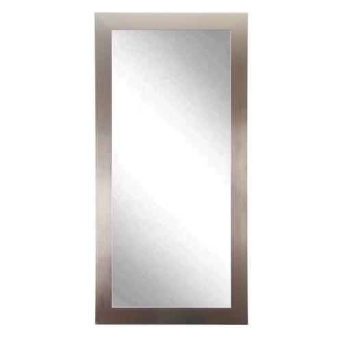 """BrandtWorks Perfect Durable Nickel Silver Vanity Mirror - 32"""" x 71"""""""