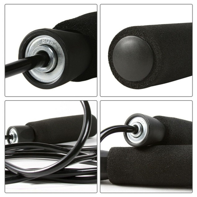 Exercise Fitness Skipping Jump Rope Adjustable