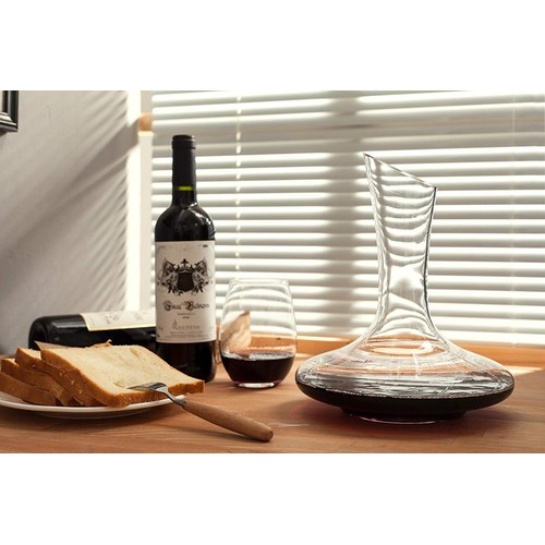 EraVino Wine Decanter Premium Wide Base Decanter