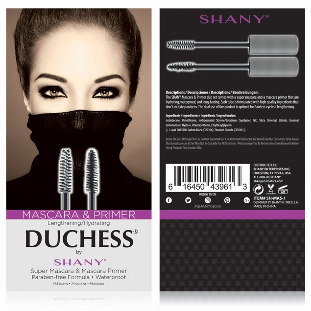 DUCHESS by SHANY 2-Piece Waterproof Mascara Set