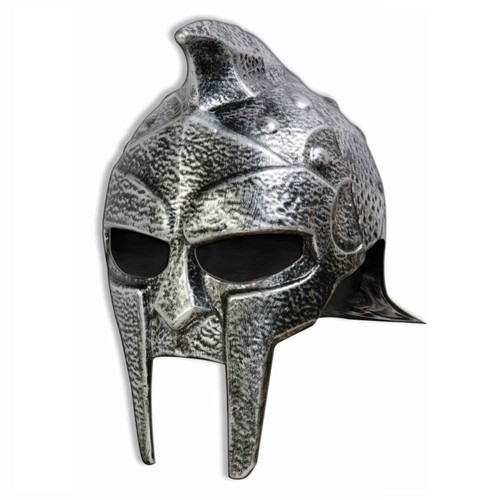 Roman Gladiator Adult Helmet Hat Trojan Warrior Mens Russell Crowe Maximus