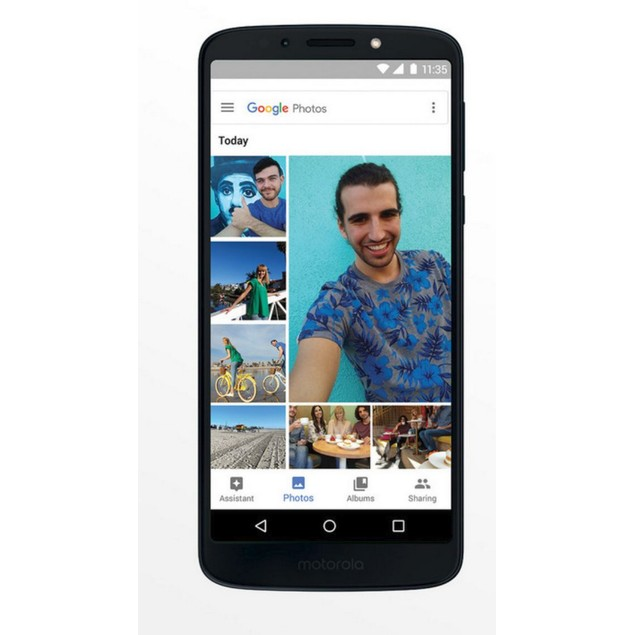 Motorola MOTO G6 Play, Sprint, Black, 16 GB, 5.7 in Screen
