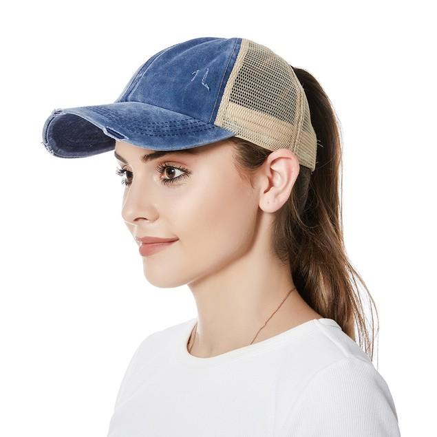 Criss-Cross Ponytail Caps