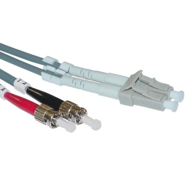 Fiber Optic Cable, LC / ST, Multimode, Duplex, 50/125, 3 meter (10 foot)