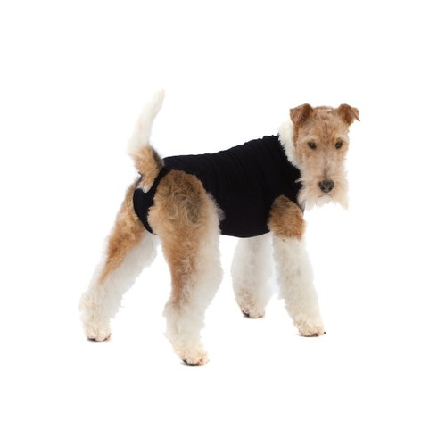 Suitical Recovery Suit for Dogs, Black, XXX-Small