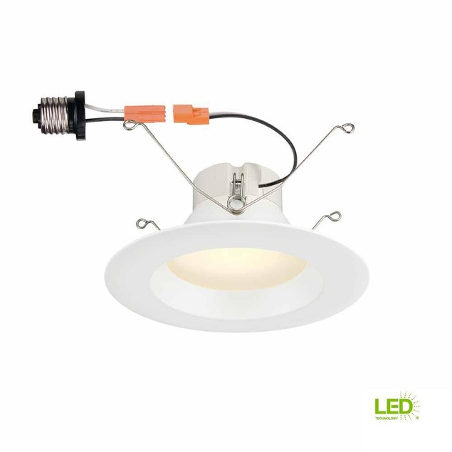 """Commercial Electric 5"""" and 6"""" Integrated LED High Lumen Recessed Trim,"""