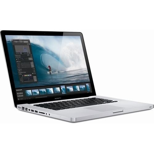 "Apple MacBook Pro MB985LL/A 15.4"" 320GB, Silver (Scratch and Dent)"