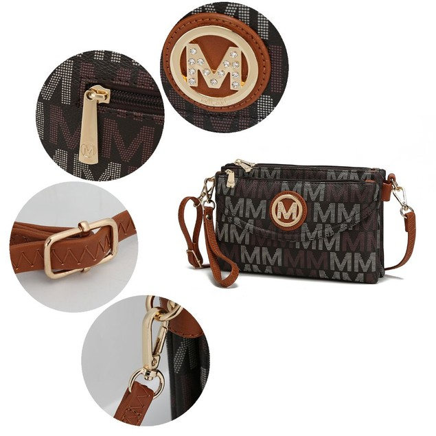 MKF Collection Ishani M Signature Cross-body Bag by Mia K.