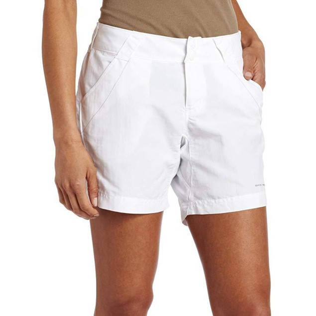 Columbia Women's Coral Point II Short,  Sz Small, White
