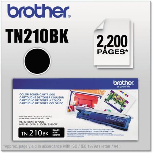 Brothers Brother International TN210BK Black Toner