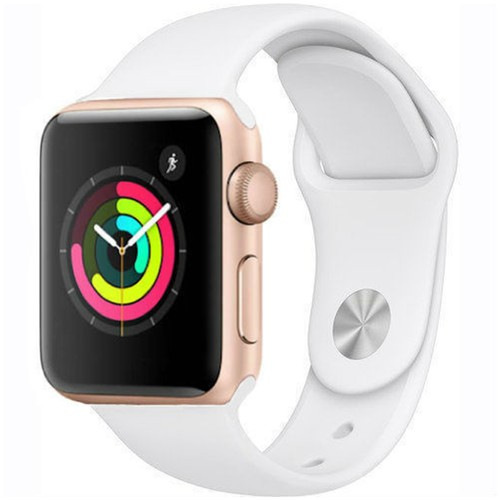 Apple Watch Series 1 38mm GPS Aluminum Gold Case with White Sport Band  - Grade B