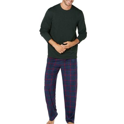 Club Room Men's Pajama Set Green Size Extra Large