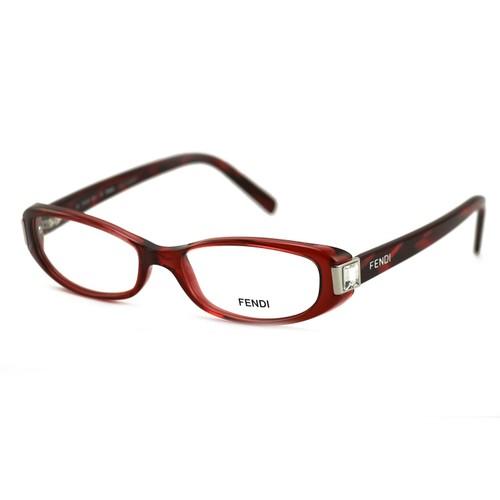 Fendi Women's Authentic Eyeglasses FF666R 603 Burgundy 51 16 135 Full Rim
