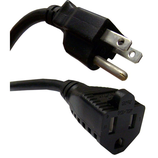 Power Extension Cord, NEMA 5-15P to NEMA 5-15R, 25 foot
