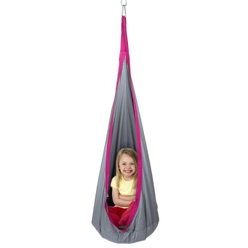 Kids Hammock Pod- Hanging Swing Seat for Children-Sturdy Padded