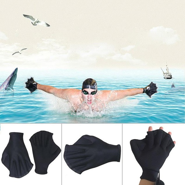 Swimming Gloves- Pair