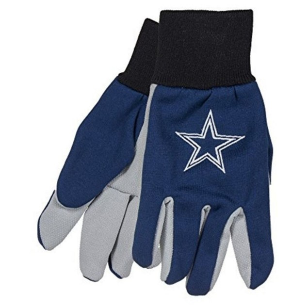 Dallas Cowboys Work Gloves  Forever Collectibles Accessory Adult Mens