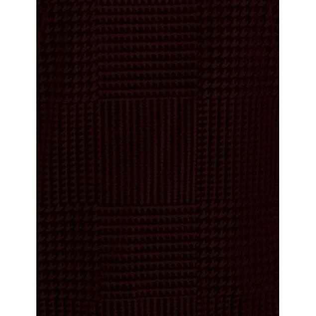 Charter Club Women's Textured Velvet Top Black Size Extra Large