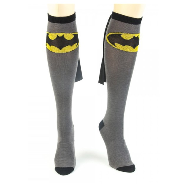 Batman Knee High Caped Socks (Pair)