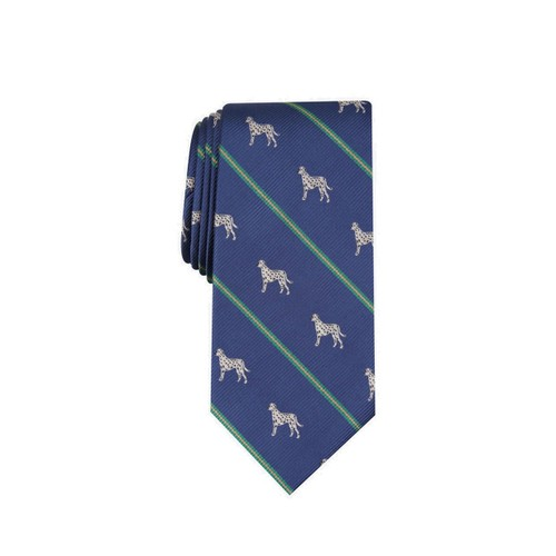 Club Room Men's Dalmatian Stripe Tie Blue Size Regular