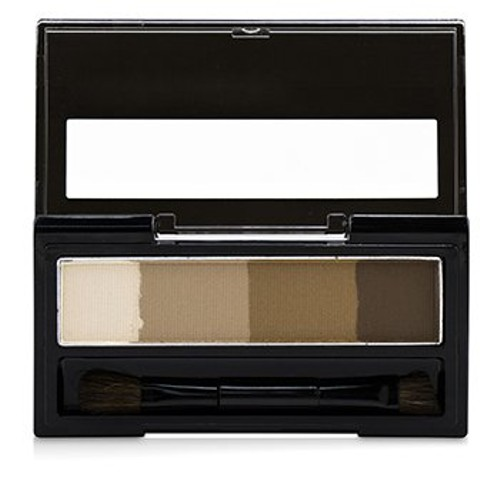 KISS ME Heavy Rotation Waterproof Powder Eyebrow And 3D Nose - # 01 Light Brown