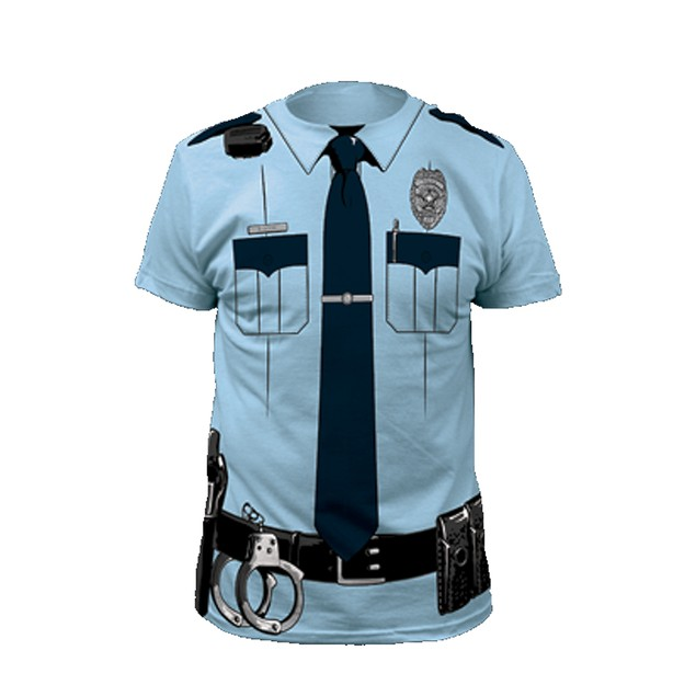 Police Officer T-Shirt Costume
