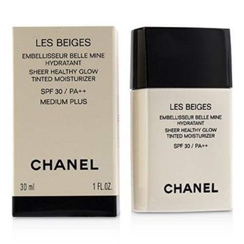 Chanel Les Beiges Sheer Healthy Glow Tinted Moisturizer SPF 30 - # Medium Plus