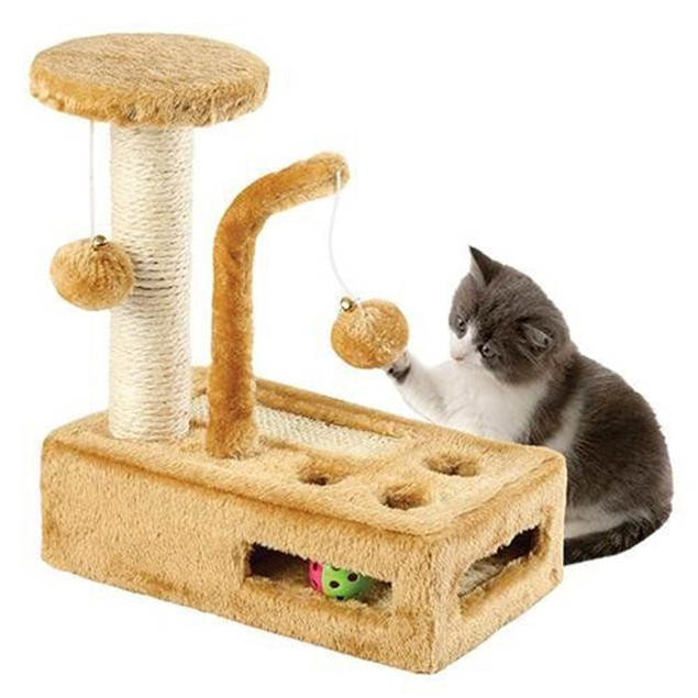 Complete Cat Playground - Scratching Post - Activity Centre